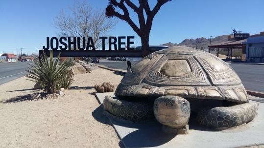 Joshua Tree City Sign