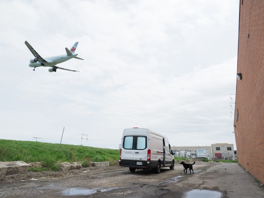 Air Canada, Ford Transit and Porter