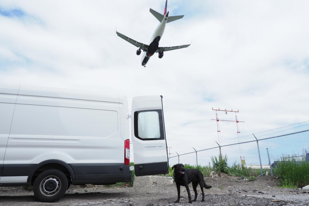 Ford Transit, Porter & Boeing 737
